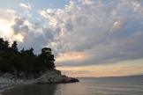 sunset in Halkidiki