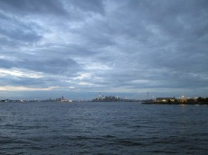 Manhattan vista da Bay Ridge